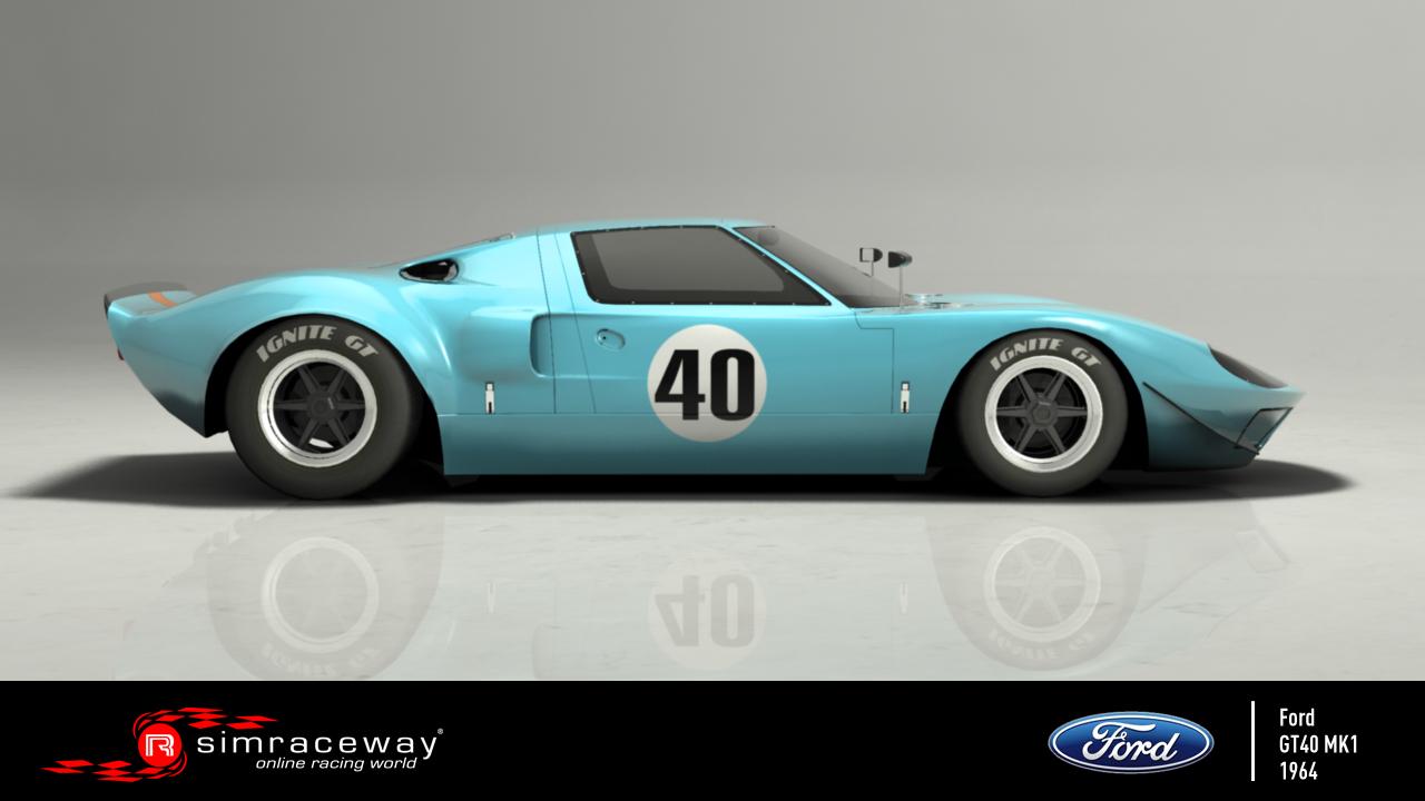 Simraceway - Ford GT40 Mk I