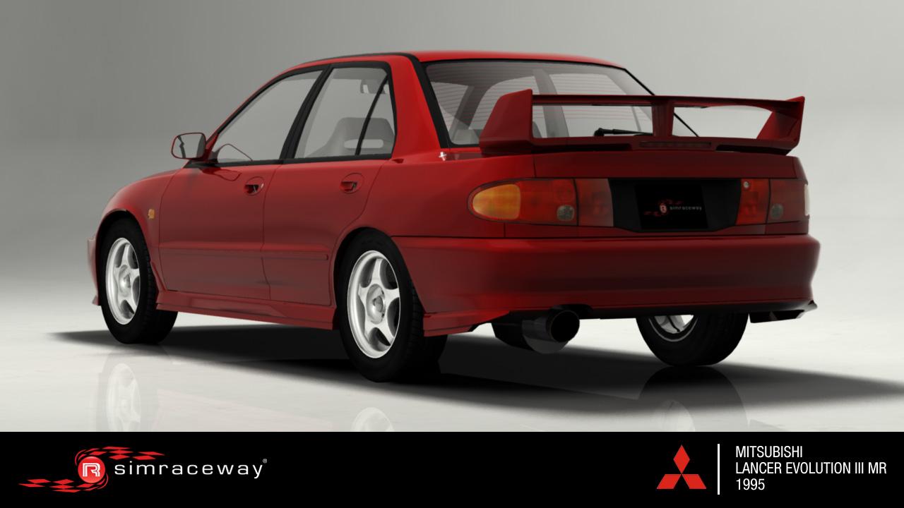 Simraceway - Mitsubishi Lancer Evolution III