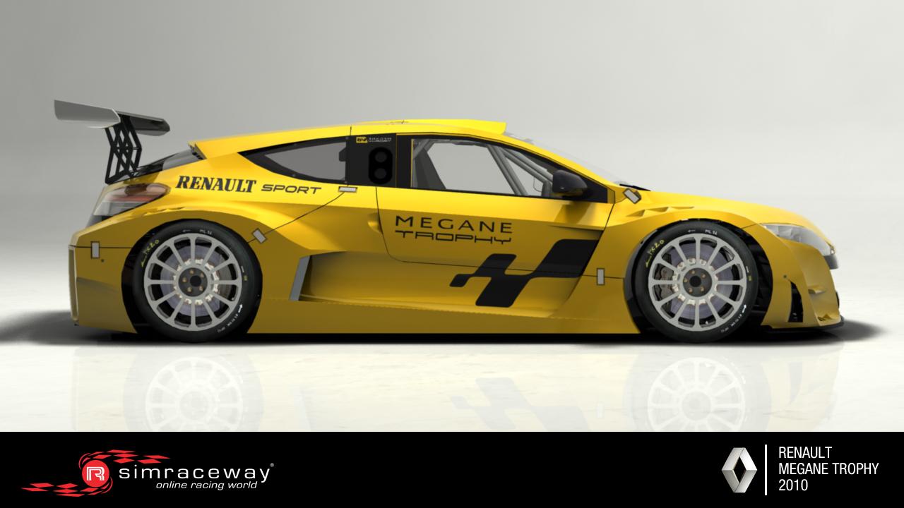 Simraceway Renault Megane Trophy