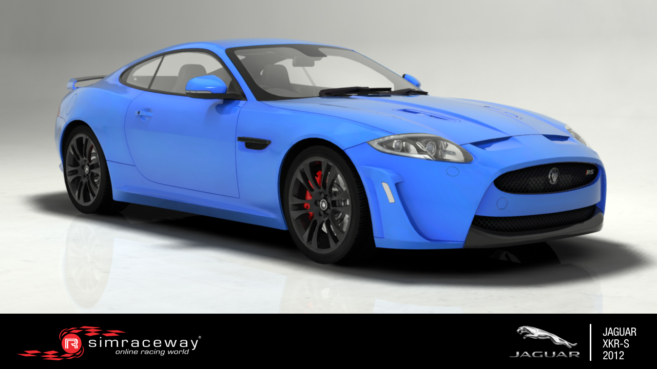 Listing of available cars in the game Jaguar_XKRS_2012_FrontThreeQuarter