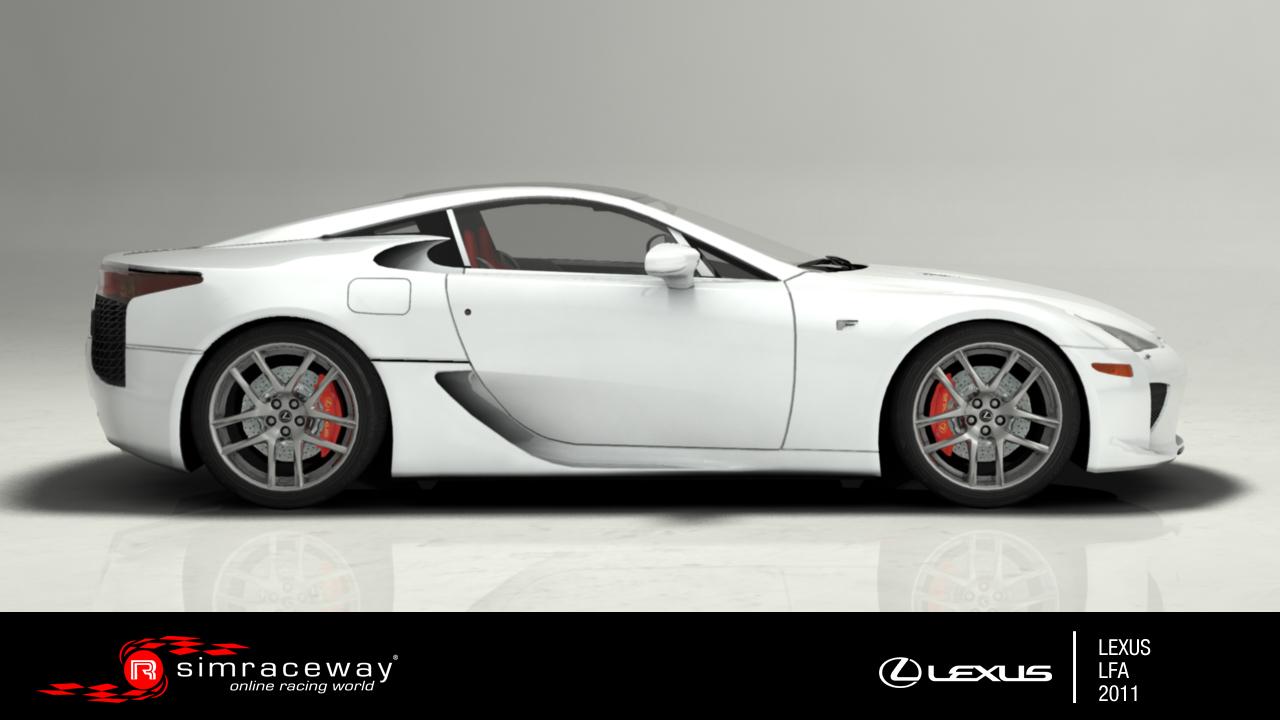 Simraceway  Lexus LFA