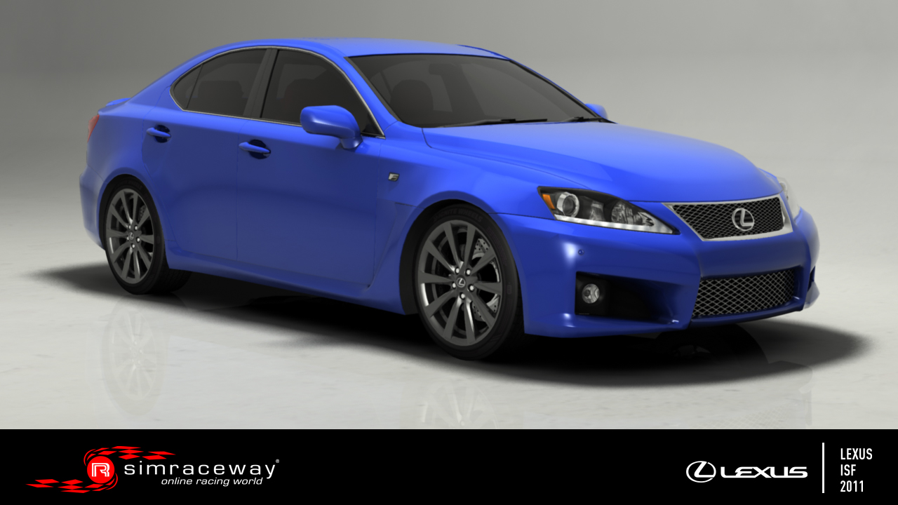Listing of available cars in the game LOGO_Lexus_ISF_2011_FrontThreeQuarter